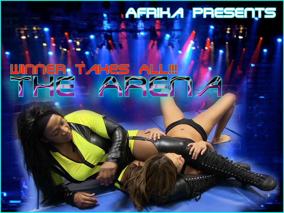 Female Wrestling in The Arena with Afrika
