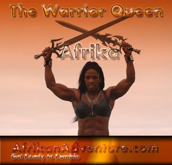 "Afrika ""The Queen of Pain"""